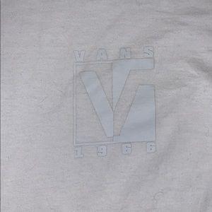 Vans men's long sleeve tee